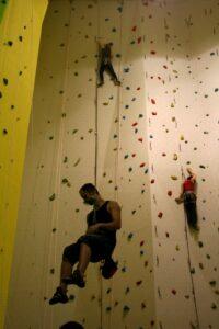 bigwall indoor climbing